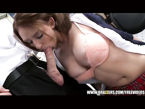 Music class teacher enjoys passionate fuck with hot student chick