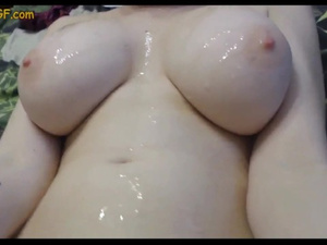 Awesome tight boobed young chick enjoys fucking with stepdad